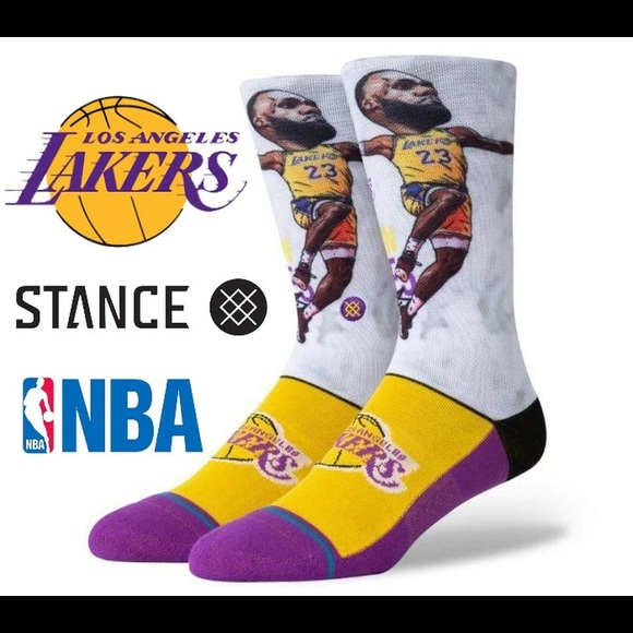 Stance Men NBA LA Lakers Lebron James Socks